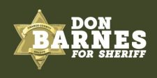 Don Barnes for Sheriff